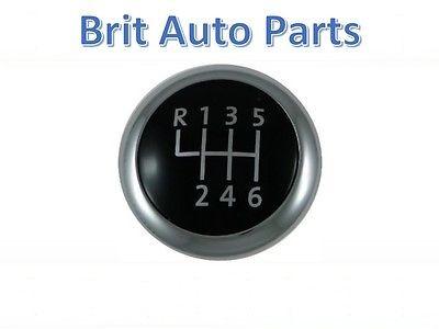 GENUINE GEAR KNOB CAP CHROME BADGE VW PASSAT B6 CC B7 6-SPEED 3C0711144A