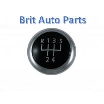 GENUINE GEAR KNOB CAP CHROME BADGE VW PASSAT B6 CC B7 5-SPEED 3C0711144