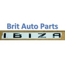 GENUINE SEAT IBIZA 6L 6J REAR TAILGATE BOOT CHROME BADGE 6L6853687 739
