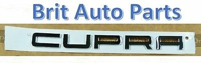 GENUINE SEAT LEON II 1P CUPRA FRONT INSCRIPTION CHROME BADGE 1PL853687 739
